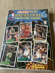 Album Collectors Panini,Fleer'94-95.Basketball.NBA