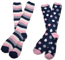 Striped Fluffy Hosiery & Socks Women's 2-3 Number in Pack
