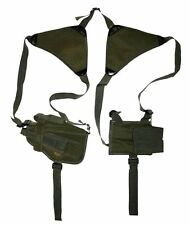 OD GREEN 3 Universal HORIZONTAL SHOULDER HOLSTER Left or Right Hand Tactical