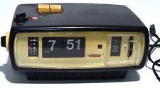 Vintage Sanyo Clock Radio 1970's 6CA - T45 Retro RARE FAULTY CLOCK, RADIO WORKS