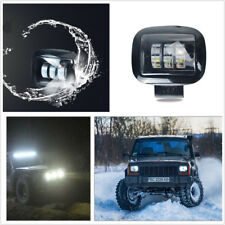72W LED Offroad Work Lamp 12V/24V Fog Light Night Driving for Car Truck SUV Boat