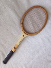 Rare Holmar Professional Tennis Racket Racquet Custom Built Wood Made in Japan