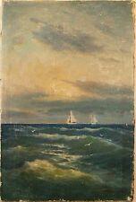 1900-1949 Original-direkt-vom-Künstler Antike & künstlerische Malerei mit Art Deco
