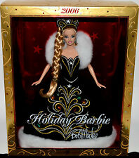 2006 HOLIDAY-Barbie Doll-Designer: Bob Mackie~NIB-CHRISTMAS LIMITED COLLECTOR ED