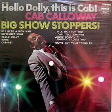 CAB CALLOWAY - HELLO DOLLY, THIS IS CAB, DOLLY... [NEW_SEALED] PICKWICK Lp x 1