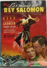 LAS MINAS DEL REY SALOMÓN. (CLIPER). álbum cromos completo (1952)