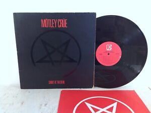 Motley Crue - Shout At The Devil - Elektra 1983 w/ Inner Sleeve Heavy Metal