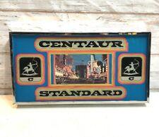 Vintage Las Vegas 1960s Centaur Standard Slot Machine Glass Insert Rare!