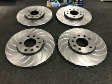LOTUS EXIGE SCC CUP  BRAKE DISCS GROOVED PERFORMANCE FRONT REAR