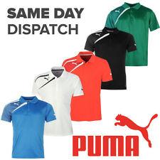 Short Sleeve Basic Striped PUMA T-Shirts for Men