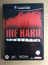 Die Hard: Vendetta COMPLETE Nintendo Gamecube Game FREE P&P
