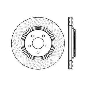 StopTech 127.61045R Sport Brake Rotor For 94-04 Ford Mustang NEW