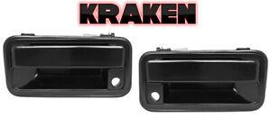 Kraken Metal Outside Door Handle For Chevy Truck 88-94 Suburban 92-94 Front Pair