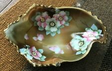 Nippon Hand Painted Candy Nut Dish
