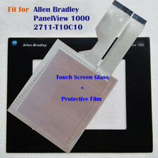 for AB Allen Bradley PanelView 1000 2711-T10C10 Screen Panel + Protective Film