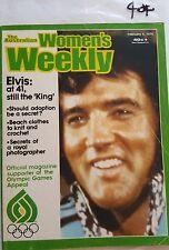 WOMENS WEEKLY 1976 FEB 4,ELVIS PRESLEY COVER