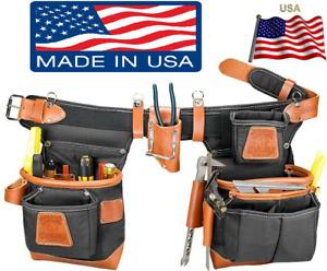 Occidental Leather 9850LH Handed Adjust-To-Fit Fatlip Outil Ceinture De Noir New
