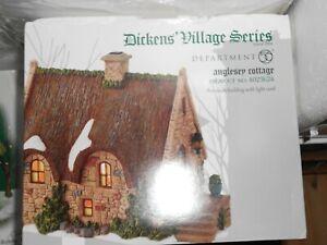 DEPT 56 DICKENS/' Village HOWARD STREET ROW HOUSES NIB *Still Sealed*