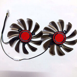 DC 12V Diameter 95MM Graphics Card Cooling Fan Replacement For XFX RX580 584 588