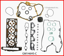 Enginetech GM146HS-C Engine Cylinder Head Gasket Set