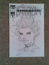 Fathom Black & White # 1 DF Michael Turner Sketch Cover c/w COA Top Cow SCARCE