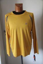 Original tee shirt ML running Homme NEW BALANCE MLS1868E Orange XL neuf