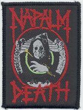 Napalm Death Original Sew On Patch #2