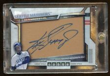 KEN GRIFFEY JR AUTOGRAPH LEATHER SP /25 TOPPS 2016 MINT SUPER RARE  HOF MARINERS