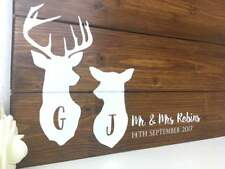 Rustic Personalised Alternative Wedding Guest Board Pallet Wood Wooden Sign