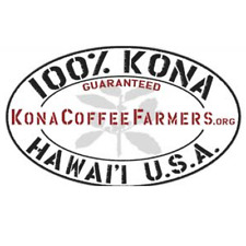100% Kona Hawaiian Coffee Beans Medium Roasted Packaged In 1 Pound Bag 1 / 10LBS