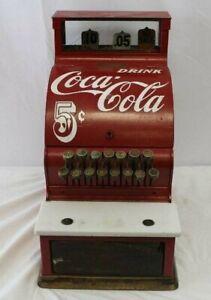 Original 1927 Coca-Cola Theme National Cash Register Model 710