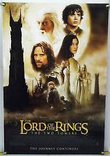LOTR THE TWO TOWERS DS ROLLED ORIG 1SH MOVIE POSTER PETER JACKSON (2002)