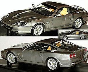 Ferrari 550 Maranello 1996-2001 Gray Grey Metallic 1:18 Hotwheels