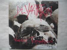 DEVASTATION -Violent termination 1987 1pr LP FULLY AUTOGRAPHED Anialator INCUBUS