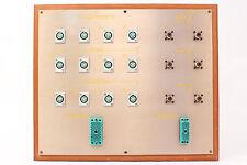 Custom Headphone/Video Patch Bay Panel 12x 4-Pin XLRF / 2x ELCO / 6x SO-239 #5