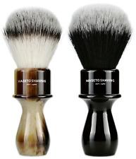 MASETO - Captain 24mm/26mm Vegan High-end Silvertip Synthetic Shaving Brush
