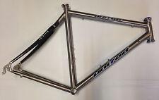 Telaio bici corsa titanio United Reynolds titanium-carbon road bike frame 54