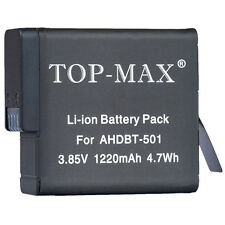 Gopro AHDBT-501 Li-ion Black Battery for GoPro HD Hero 5 Hero5 Camera