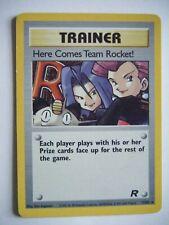 HERE COMES TEAM ROCKET TRAINER 15/82 Pokémon RARE Holo