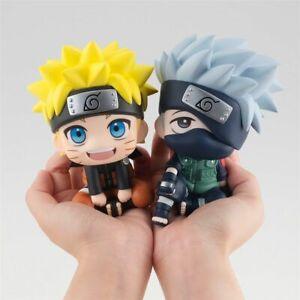 Naruto Uzumaki & Kakashi Hatake Mini Action Figure Toy Models PVC Figurine Dolls