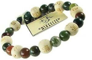 Zorbitz Unexpected Miracles Lucky Karmalogy Beads Bracelet NEW