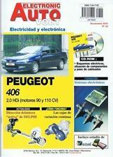 MANUAL DE TALLER ELECTRICIDAD  PEUGEOT 406 DIESEL + CD