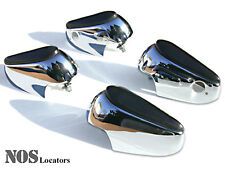 MGB Rubber Face Chrome Overrider Set of 4 NEW