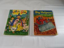 Junior Elf Books  LOT OF 10 Mrs.Hen, Mother Goose, Farm Pets, Big Helper Etc.