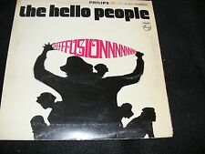 Hippie LP Classic HELLO PEOPLE Psych Pop Unipak Gatefold FUSION Philips US Orign