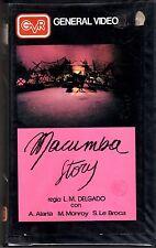 Macumba story (1962) VHS GVR  Luis M. Delgado  Alfredo Alaria Manuel Monroy RARA