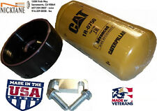 01-16 6.6L LB7 LLY LBZ LMM LML GM CHEVY DURAMAX CAT FUEL FILTER ADAPTER NICKTANE