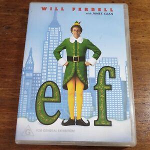Elf DVD R4 LIKE NEW FREE POST