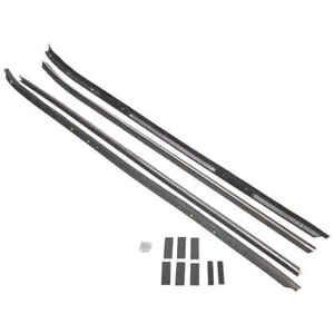 Inner & Outer Felt Window Sweep Belt w/Inner Chrome Bead, 70-81 Camaro Firebird