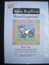 Counted Cross Stitch Chart Australian Design Moo Cow Aida BNIP Fast Postage
